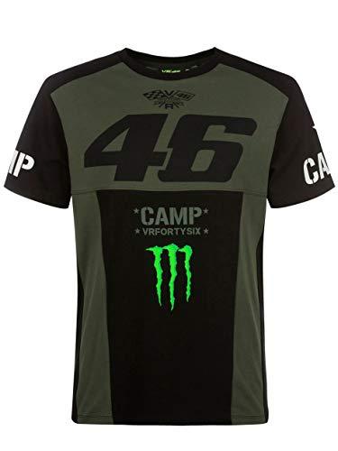 Valentino Rossi Camp-Monster Dual; Tshirt Mann; Grün; S