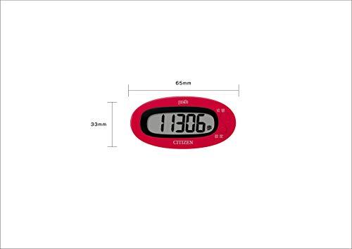シチズン(CITIZEN)デジタル歩数計pebブルーTW310-BL