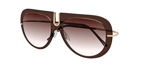 Silhouette Gafas de Sol TMA - FUTURA 4077 Brown/Brown Shaded talla única unisex