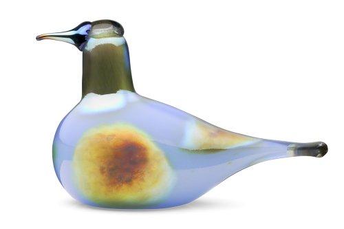 Iittala Birds of Toikka Mouthblown Glass Bird, Sky Curlew