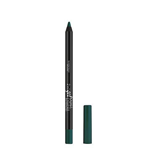 Deborah milano 2 in 1 Gel Kajal & Eyeliner Pencil, 04 Green