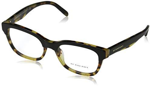 BURBERRY 0BE 2257 3649 53 Gafas de sol, Negro (Top Black On Havana), Mujer