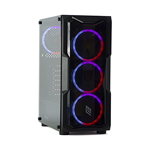 MAK OFFICE I 2.0 - PC Desktop RYZEN 3 4300GE 4.00GHZ,SSD NVME 500 GB + HDD 1TB,RAM 16GB 3200MHZ, WIFI INTEGRATO, COMPUTER DA GAMING,WINDOWS 10 PRO