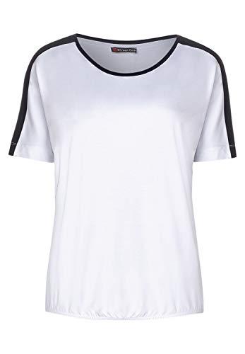 Street One Damen Gitta T-Shirt, White, 40