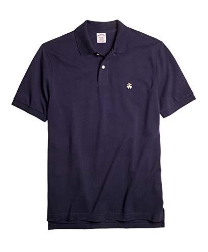 Brooks Brothers Golden Fleece Original Fit Performance Polo Shirt (M, Navy)