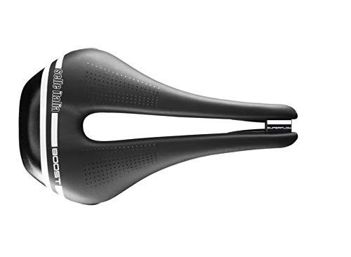 Selle Italia - Selle Vélo de Route Novus Boost TM Superflow, Cadre manganèse Tube Ø7, Selle Courte Road Perfomance Duro-Tek, Confort