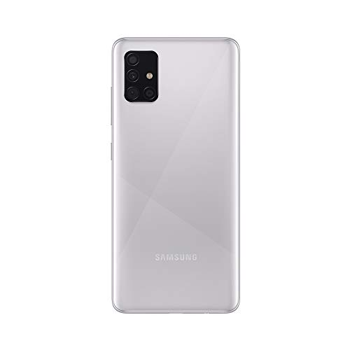 Samsung Galaxy A51 A515 Haze Crush Silver 128 GB Dual SIM EU, silber