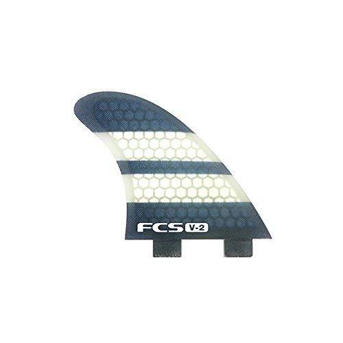FCS K2.1 V-2 Performance Core Surfboard Fins - Tri-Quad Set