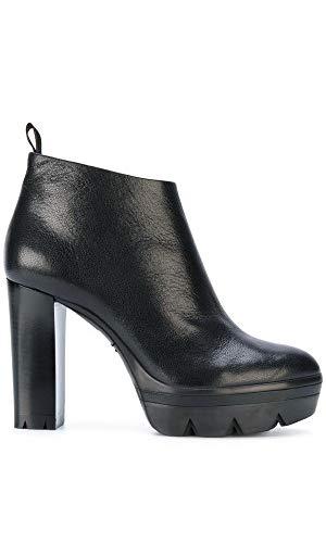 Santoni Damen-Stiefel, Schwarz - Schwarz - Größe: 40 EU