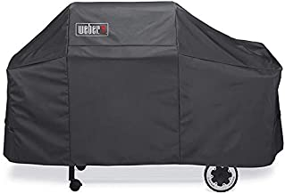 Weber 7552 Premium Cover for Weber Genesis Silver/Gold Gas Grills, Fit Genesis 2000-5500 Gas Grills (61L x 22W x 37H inch)