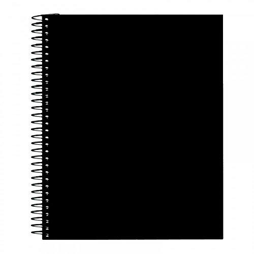 Winsor & Newton schwarzes Skizzenbuch, Spiralbindung, 170g/m², 50 - Blatt, DIN A5