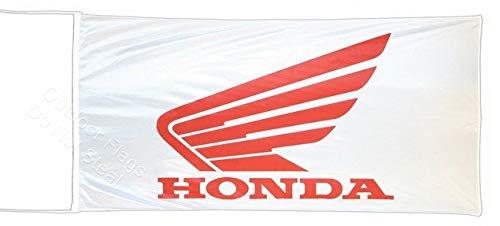 Cyn Flags Honda MOTOS Banner Flag Fahne Flagge 2.5x5 ft 150 x 75 cm