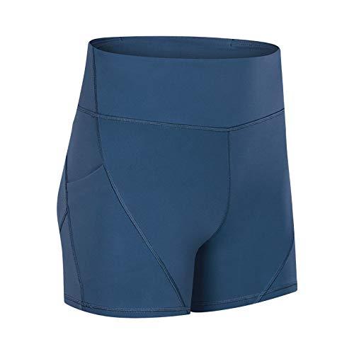Pantalones Cortos para Mujer Primavera y Verano Nueva Tendencia de Pantalones Cortos de Yoga Simples y versátiles Pantalones Cortos Deportivos de Entrenamiento para Correr 10
