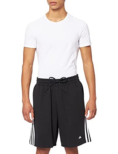adidas M Fi 3S Short Pantaloncini, Black, LT Uomo