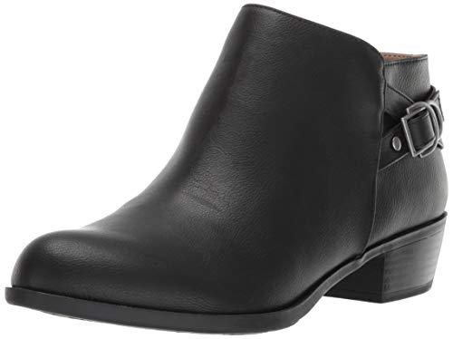 LifeStride Women's Antonia Ankle Boot, Black, 8.5 M US