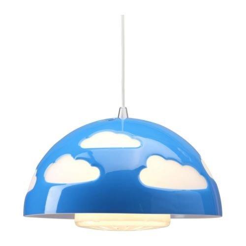 IKEA SKOJIG - Lámpara de techo, color azul