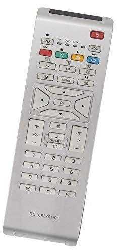 ALLIMITY RC1683701/01 Reemplazo de Mando a Distancia para Philips LCD TV 26PF5320 32PF5321 32PF7320A TV325320 32PF7320 42PF7420 42PFL9703D
