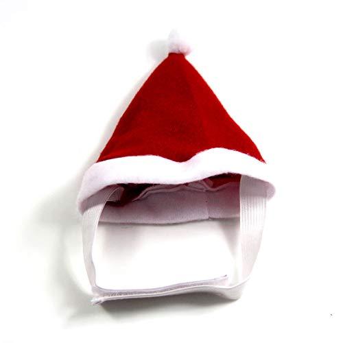 MYYXGS Hundeschal Haustierhundeweihnachtshut HaustierkatzenkostüM Roter Weihnachtsschalhut VIP Gebrauch