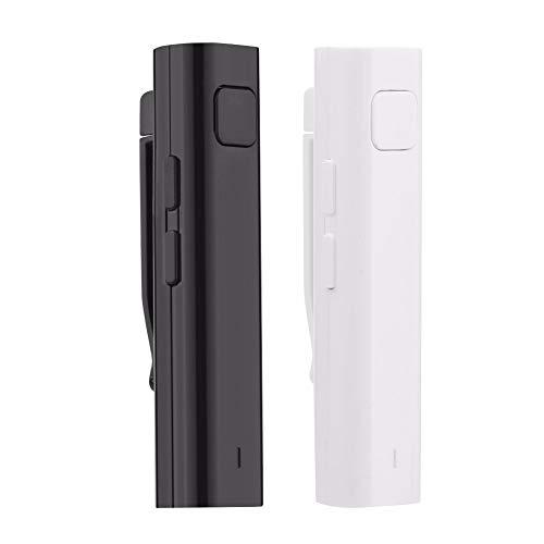 DINGXUEMEI DXM OPLK Bluetooth Receiver Smart Headphone Voice Translator 26 Multi-Language Travel Business TF Card Voice Text Interpreter Earphone (Color : Black)