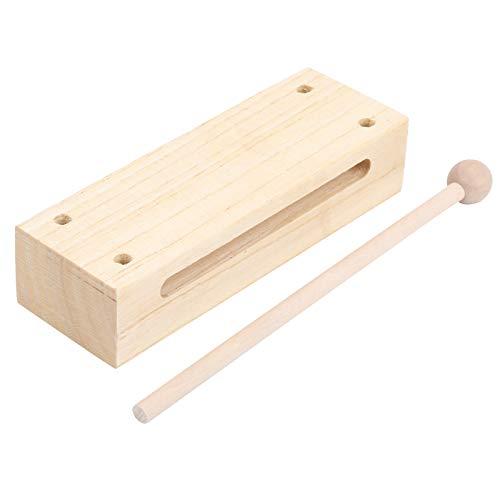 Musikalischer Percussion-Block, praktischer Holzblock-Klöppel, für private Theateraufführungen für den allgemeinen professionellen Gebrauch
