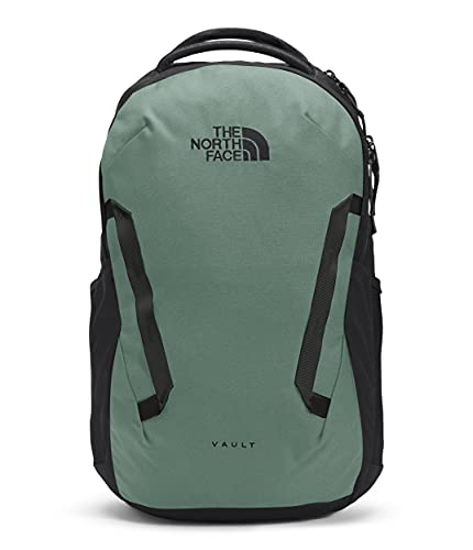 The North Face Vault Backpack, Laurel Wreath Green/TNF Black, One Size
