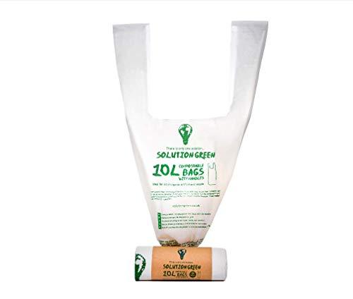 Solution Green Bolsas Basura Con Sin asas 6L 10L 30L