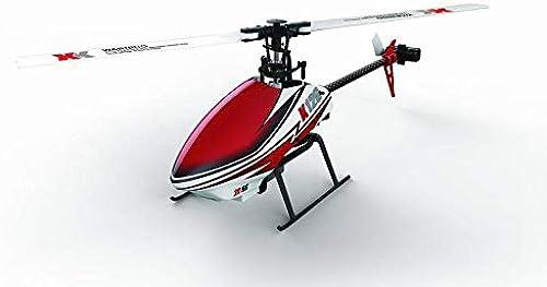 Fun-And-Media XK K120 6 Kanal Helikopter Ready to Fly X6 6-Kanal Sender Mode 2
