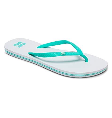 DC Shoes Spray - Flip-Flops for Women - Sandalen - Frauen - EU 39 - Weiss