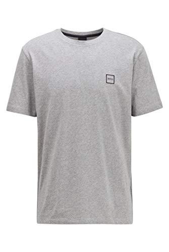 BOSS Herren T-Shirt Tales, Grau (Light/Pastel Grey 051), Large