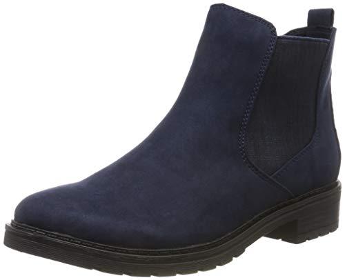 MARCO TOZZI Damen 2-2-25490-23 Chelsea Boots, Blau (Navy Comb 890), 37 EU