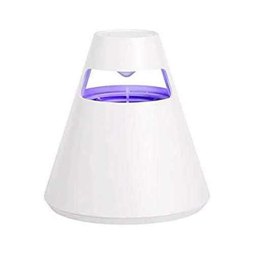 Paquete De 2 Lámparas USB para Matar Mosquitos para El Hogar, Luz UV para Matar Insectos, Repelente De Mosquitos Fotocatalizador Silencioso Sin Radiación, para Cocina Interior Y Exterior,Blanco