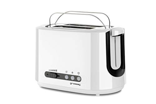 grossag TA 70.00 Toaster, Plastik, weiß