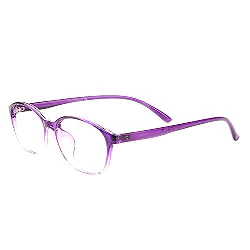 CAOXN Gafas de Lectura de la transición fotocromática Inteligente Interior Transparente Exterior UV400 Gafas de Sol con dioptrías +1.00 a +3.00,Púrpura,+1.00