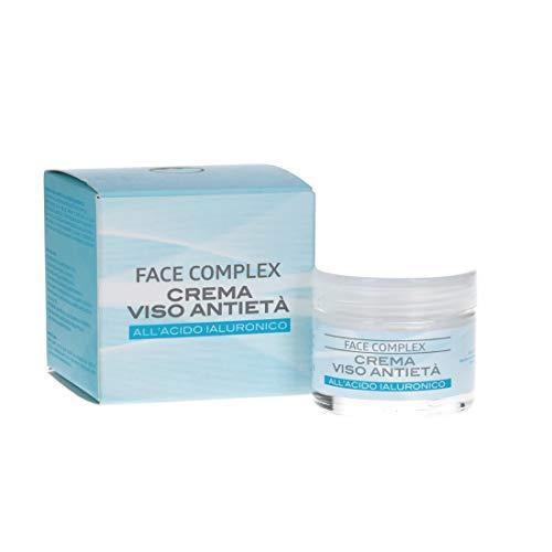 Crema Facial Antiedad Con Ácido Hialurónico y Aceite de Almedras 50ml