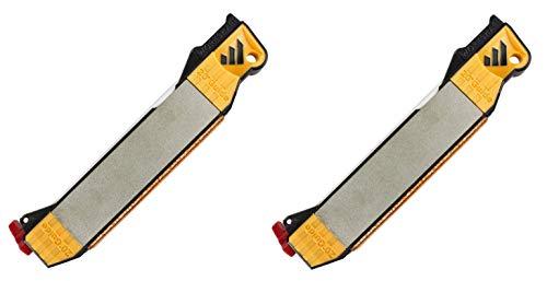 Work Sharp Guided Field Sharpener - Sharpening Guides, Diamond Plate, Ceramic Rod, Leather strop, 2 Pack (2)