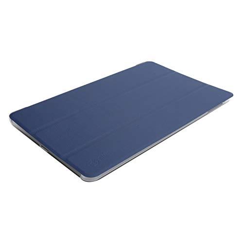 Jopwkuin Feams Slim Light Folio Stand Tablet PU Cover, para Samsung Galaxy Tab A7 Tableta de 10.4 Pulgadas para Apple iPad Mini 1 2 3 4 5 - Pink Marble(Blue)