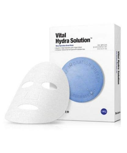 DR JART+ Dermask Water Jet Vital Hydra Solution Maschera per viso coreana, confezione da 5