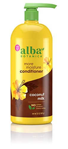 Alba Botanica Drink It Up Coconut Milk Hawaiian Conditioner 32 oz