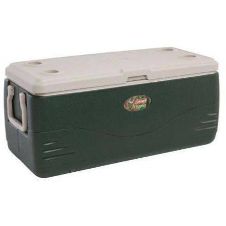 Coleman Xtreme 150 qt Cooler, Green Holds 223 Cans (150 qt, Green)