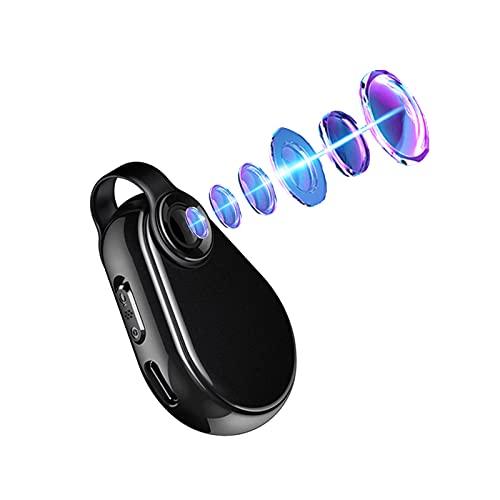 RNNTK Mini Cámara Espía Oculta,1080P HD Micro Camara Vigilancia Grabadora de Video Portátil para Negocios y Conferencias Mini Camaras Espias Cámara de Bolsillo Portátil-Negro 8 GB