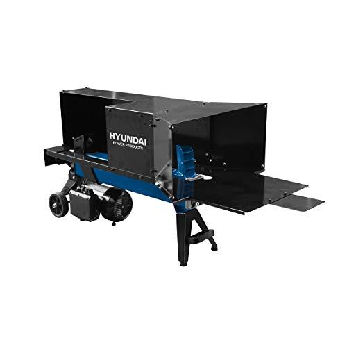 Hyundai houtkloofmachine 1500W / 4 ton - horzitontale elektrische houtklover/houthakmachine - hydraulische houthakker