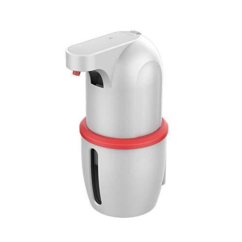 Miloe Dispensador automático de jabón con sensor de movimiento infrarrojo, sin contacto, alta capacidad, impermeable, dispensador de jabón con 2 niveles para cocina, baño, hotel, restaurante, 275 ml