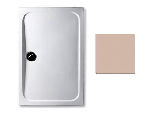 Acryl Duschwanne 140 x 90 cm Farbe: BAHAMABEIGE superflach 3,5 cm rechteckig Dusche/Duschtasse/Brausewanne