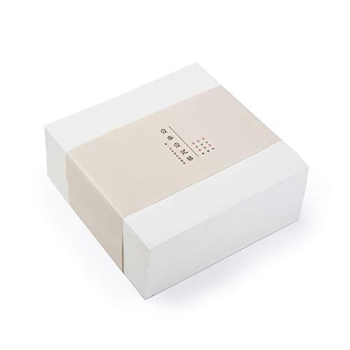 Vanra - Blocco autoadesivo, 400 fogli/cubi (bianco avorio)
