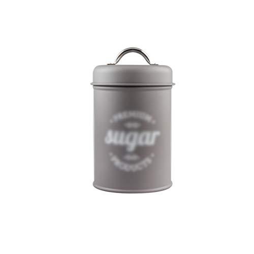 ZAZA Tarros Jarra Tarro de Cocina Alimentos de Botes de Cocina, contenedores apilables con Tapa de Sello hermético for Servir al Grano de café Contenedor Alimentos (Color : Sugar)