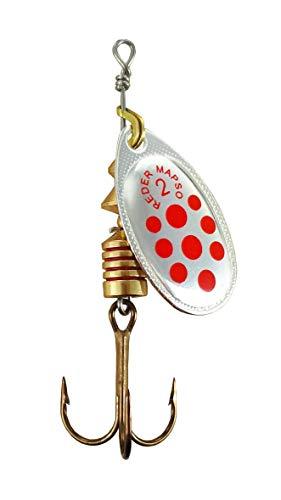 MAPSO - 5 Cucharillas de Pesca REDER-2 PR 4,50 GMS.