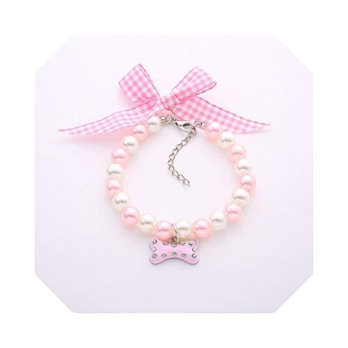 Bow-Knot - Colgante de diamantes de imitación, diseño de gato
