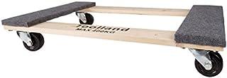 Toolland QT408 Transport-roller, rechthoekig, 400 kg maximale draagkracht, 760 mm lengte x 460 mm breedte
