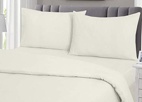 KB Tradax - Sábana bajera ajustable (100% algodón cepillad