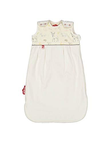 4 Jahreszeiten Kinderschlafsack in 3 Größen & vielen süßen Designs - Atmungsaktiver Schlafsack für einen erholsamen Schlaf mit Zizzz (70cm (0-6 M), In the woods)